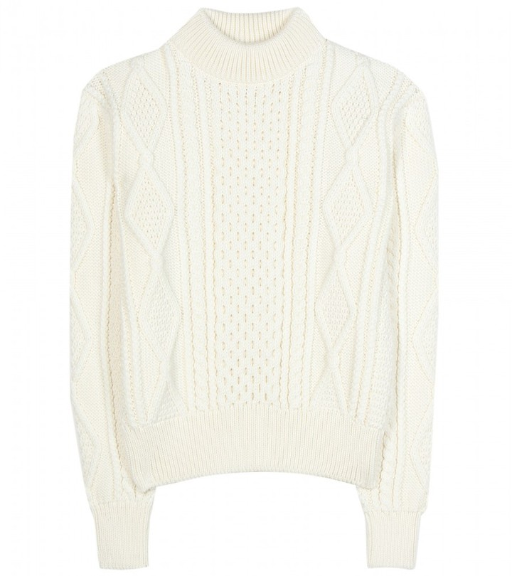 Marc Jacobs Cable-knit wool sweater