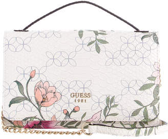 GUESS Kamryn Top Handle Wallet on a String ML669179FLR