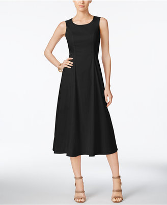 Alfani A-Line Midi Dress, Only at Macy's $119.50 thestylecure.com
