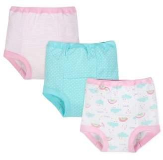Gerber Organic Cotton Reusable Training Pants, 3pk (Toddler Girl)
