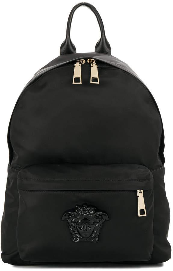 Versace Medusa plaque backpack