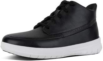 FitFlop SPORTY-POP TM Men's Perforated Leather High-Top Sneakers