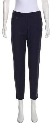 Ted Baker Mid-Rise Wool-Blend Pants
