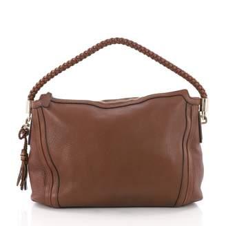 Gucci Hobo Brown Leather Handbag