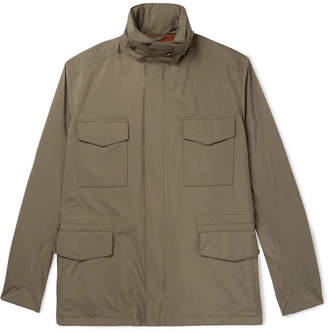 Loro Piana Traveller Windmate Storm System Shell Field Jacket - Green