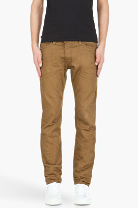 Diesel brown Darron Trousers