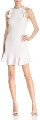 LIKELY Fanning Ruffled Sheath Dress