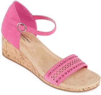 8c3d28049c92 ST. JOHN S BAY Womens Mackey Wedge Sandals