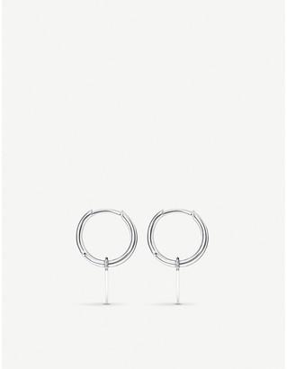 Thomas Sabo Spike mini sterling silver hoop earrings