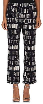 Zero Maria Cornejo Women's Eko Book-Print Stretch-Silk Pants