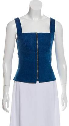Rag & Bone Sleeveless Denim Top