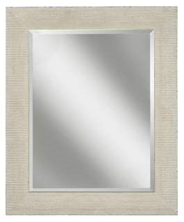 Martin Svensson Home Rustic White Wall Mirror
