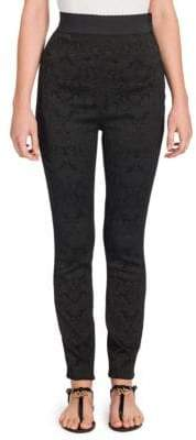 Dolce & Gabbana Floral Jacquard Pants