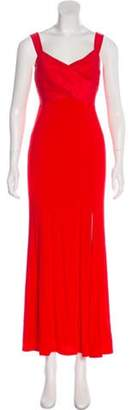 Donna Karan Sleeveless Maxi Evening Dress Sleeveless Maxi Evening Dress