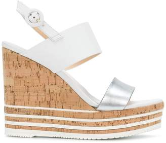Hogan wedged sandals