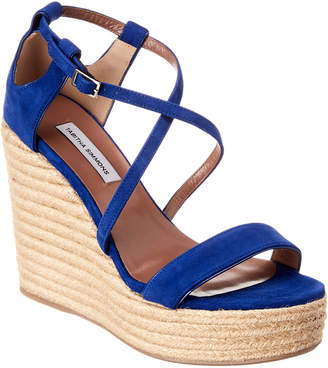 Tabitha Simmons Jenny Suede Espadrille Wedge
