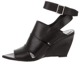 Narciso Rodriguez Cutout Wedge Sandals