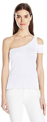 Splendid Women's 1x1 One Shoulder Tank