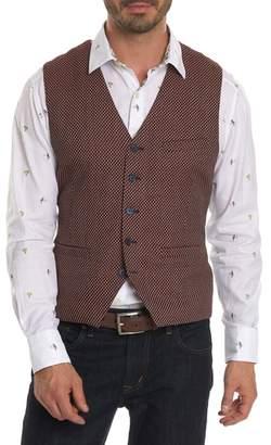 Robert Graham Edmund Classic Fit Wool Vest