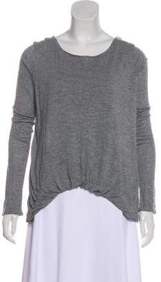 Elizabeth and James Crew Neck Long Sleeve