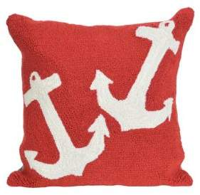 Frontporch Anchor Indoor and Outdoor Square Pillow