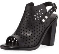 Wyatt Perforated High-Heel City Sandals