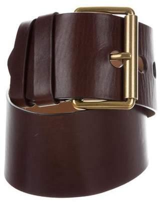 Michael Kors Wide Leather Belt