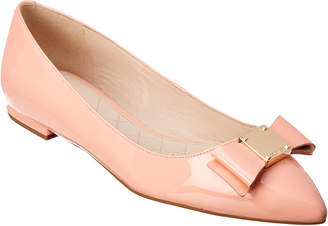 Cole Haan Tali Bow Patent Skimmer Flat
