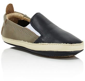 Old Soles Boys' Two Tone Leather Sneakers - Baby $49 thestylecure.com