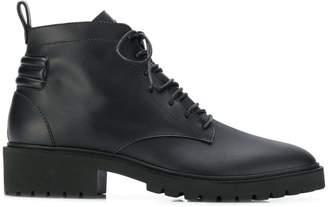 Giuseppe Zanotti platform combat boots