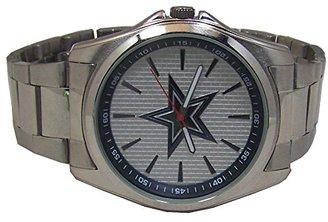 Avon Dallas Cowboys Watch リリースメンズ3手シルバートーン腕時計