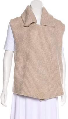 Soyer Wool Rib Knit Vest
