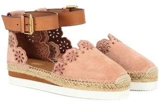 3d1e476e2544 See by Chloe Leather Sole Flats For Women - ShopStyle UK