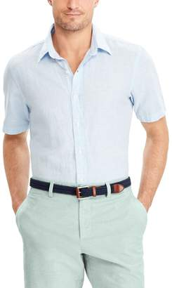 Chaps Men's Classic-Fit Linen-Blend Button-Down Shirt