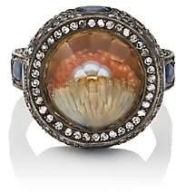Sevan Biçakci Women's Pearl & Clam Shell Intaglio Ring - Amber