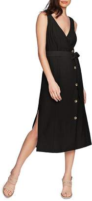 1 STATE 1.STATE Button-Front Midi Dress