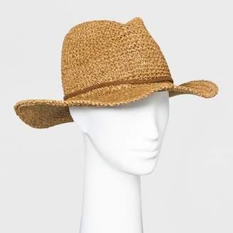 Universal Thread Women's Panama Hat - Universal ThreadTM Brown