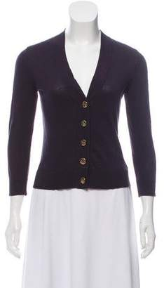 Tory Burch V-Neck Knit Cardigan