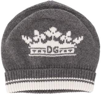 Dolce & Gabbana cashmere crown beanie