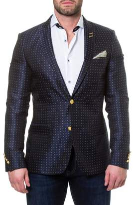 Blend of America Maceoo Descartes Dot Linen & Cotton Sport Coat