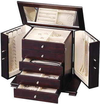 FINE JEWELRY Java Classic 4-Drawer Jewelry Box
