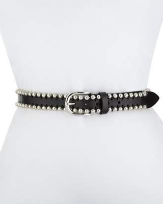 Isabel Marant Tokky Beaded Leather Belt