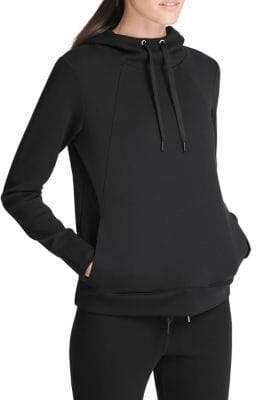 Donna Karan Active Classic Long-Sleeve Hoodie