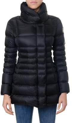 Colmar Black Place Opaque Fabric Down Jacket