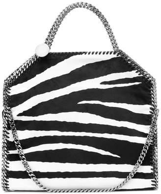Stella McCartney Falabella Mini zebra-print tote