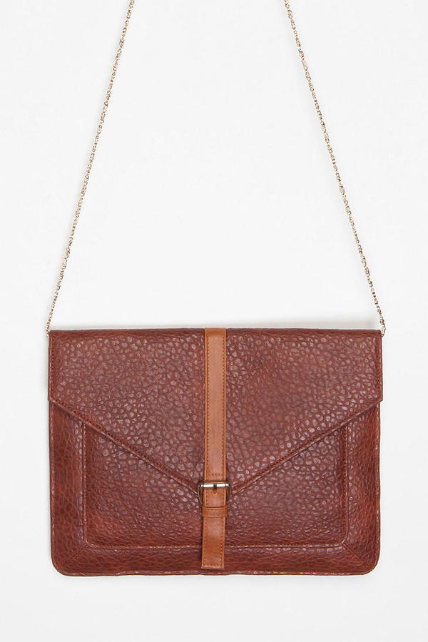 Ecote Pebbled Envelope Clutch