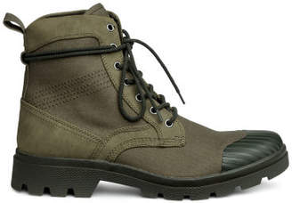 H&M Chunky-soled boots - Green