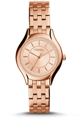 Fossil Daydreamer Three-Hand Rose Gold-Tone Stainless Steel Watch