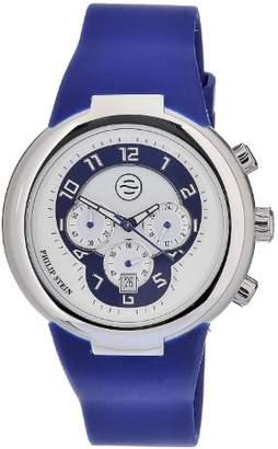 Philip Stein Teslar Men's 32-AN-RN Quartz Stainless Steel Dial Watch