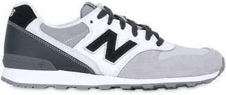 996 Nylon & Suede Sneakers $114 thestylecure.com